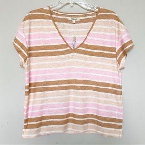 Women's Madewell Skyline Striped T shirt